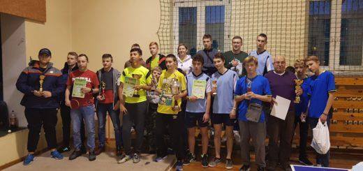 IXX Mikołajkowy Turniej tenisa stołoowego 1