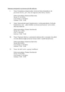 tematy warsztatw 1