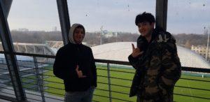 Zwiedzamy stadion Legii 5