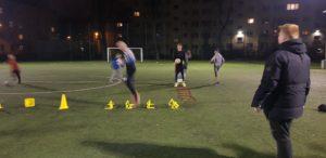 trening piłkarski na Osowskiej 3