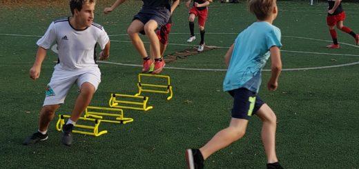 trening piłkarski na Osowskiej 4