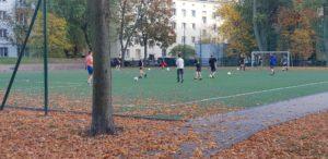 trening piłkarski na Osowskiej 5