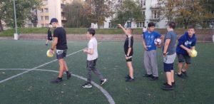 trening piłkarski na Osowskiej 6